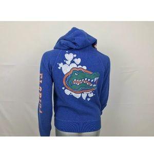 PINK VS Hoodie Sweater Full Zip Gators Sz L